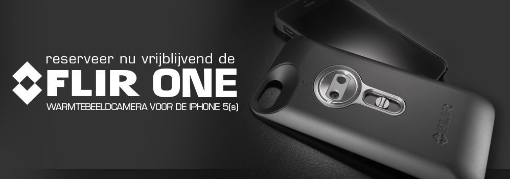 FLIR One voor je iPhone 5S