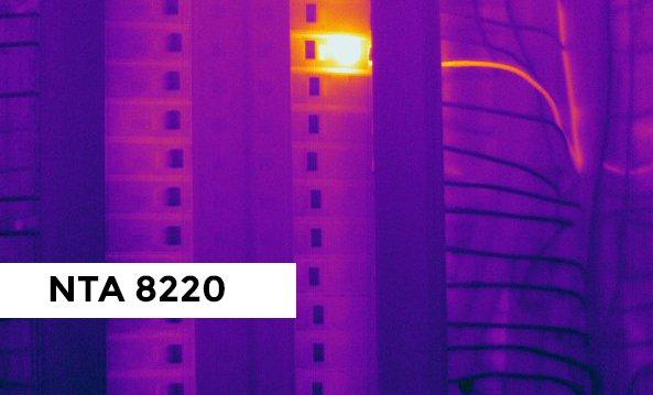 Een inspectie volgens de NTA 8220 vereist de juiste warmtebeeldcamera en opleiding.