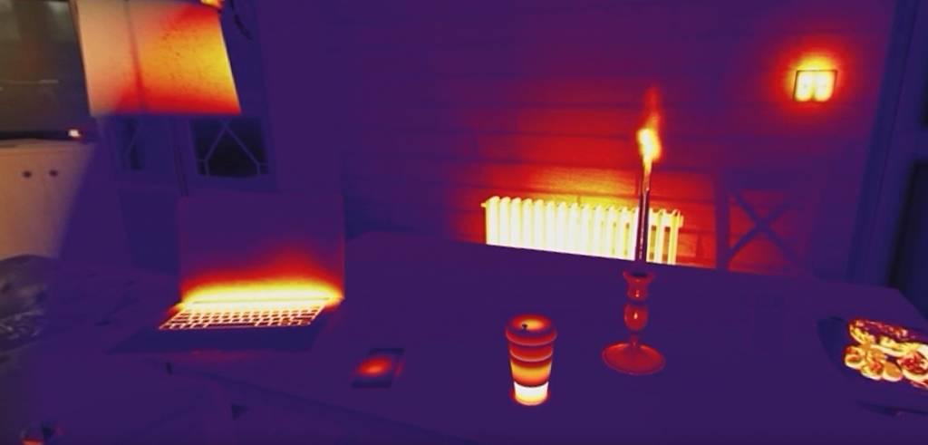 Lekkagedetectie met een Warmtebeeldcamera