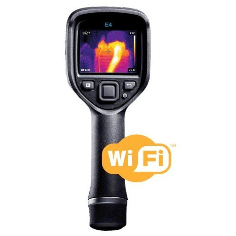 FLIR FLIR E4 WiFi Point & Shoot Wärmebildkamera 80 x 60 Pixel