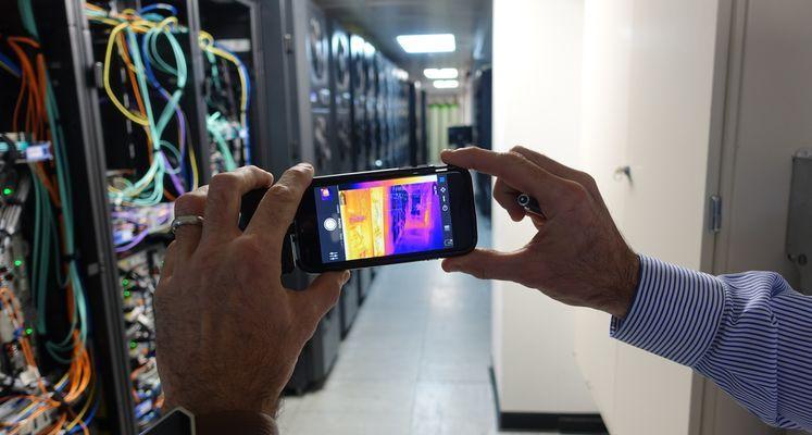 FLIR One Warmtebeeldcamera houdt conditie datacenter op peil