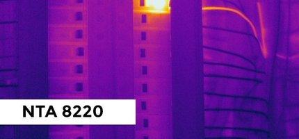 Een inspectie volgens de NTA 8220, Scios Scope 10 vereist de juiste warmtebeeldcamera en opleiding