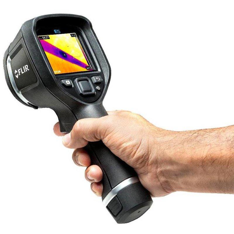 FLIR E5xt WiFi, la caméra thermographique Viser & Capturer de 160 x 120 pixels