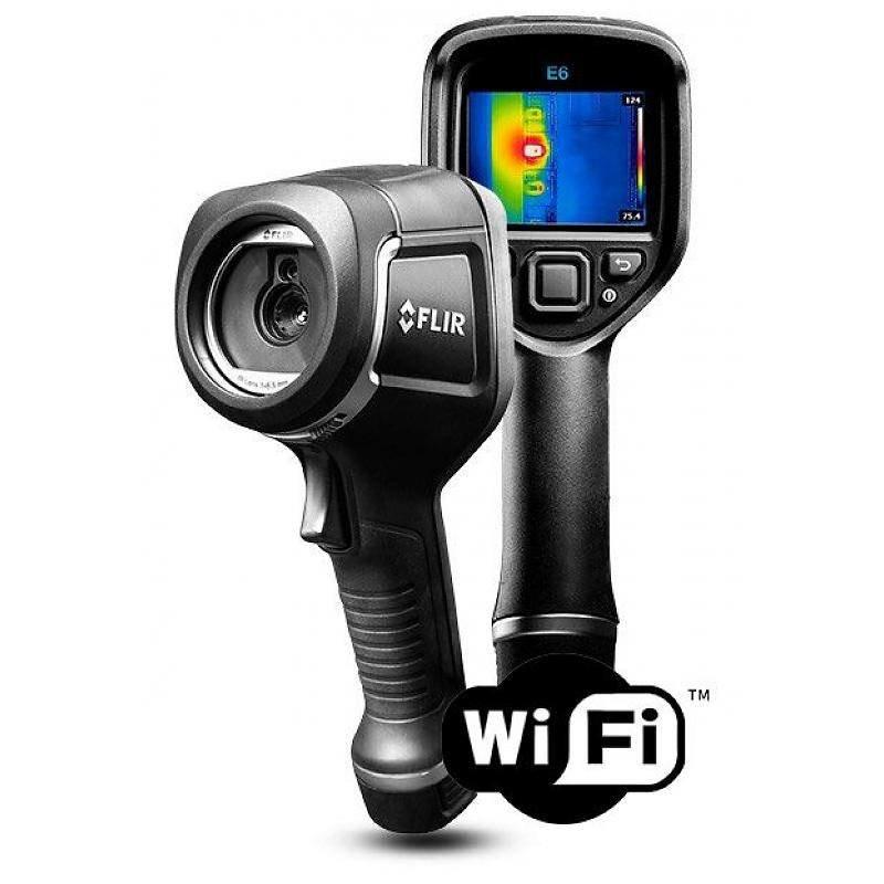 FLIR E6xt WiFi, la caméra thermographique Viser & Capturer de 240 x 180 pixels
