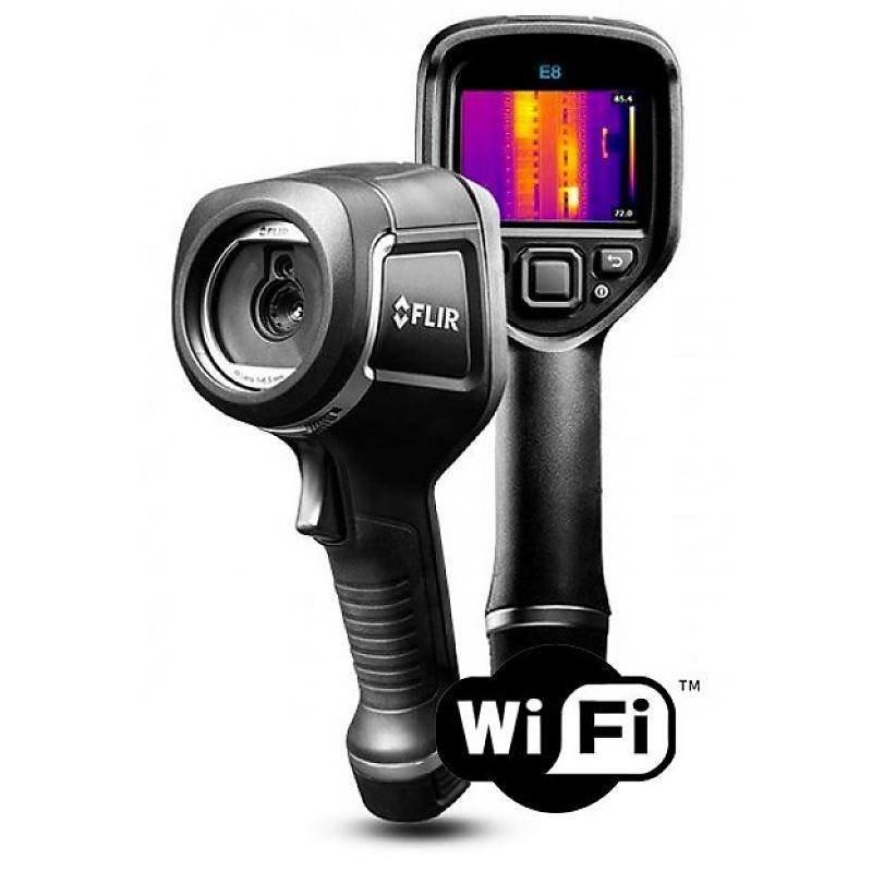 FLIR E8xt WiFi Point & Shoot warmtebeeldcamera 320 x 240 pixels
