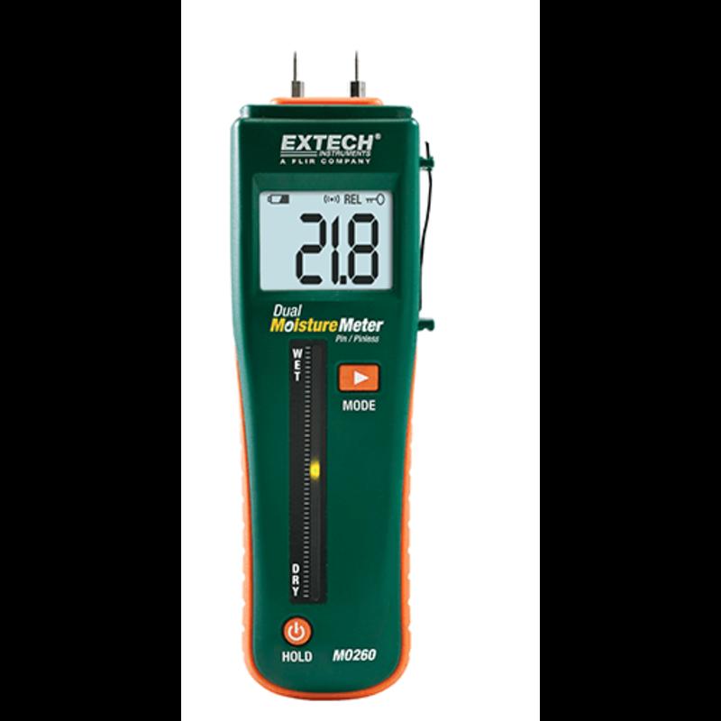 EXTECH EXTECH MO260 Combination Pin/Pinless Moisture Meter