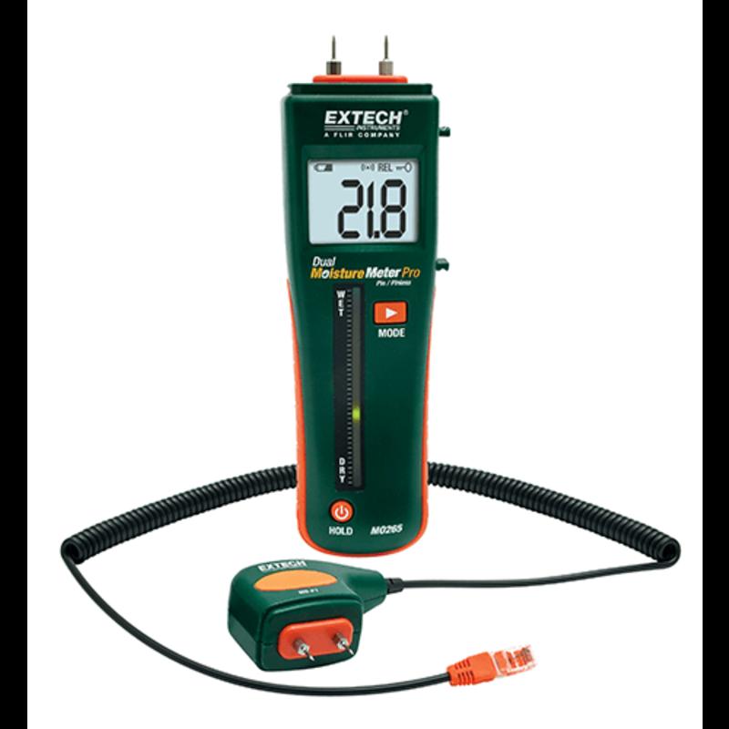 EXTECH EXTECH MO265 Combinatie pin/pinloze vochtmeter