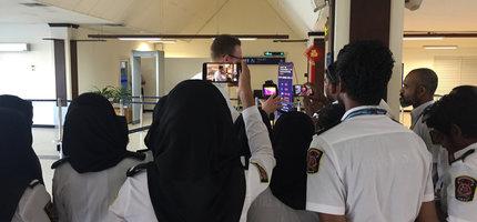 Coronavirus: Hanimadhoo Airport op de Maldiven voorzien van Warmtebeeldscreening