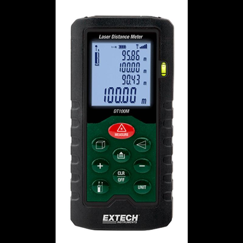 EXTECH DT100M: Laser afstandsmeter