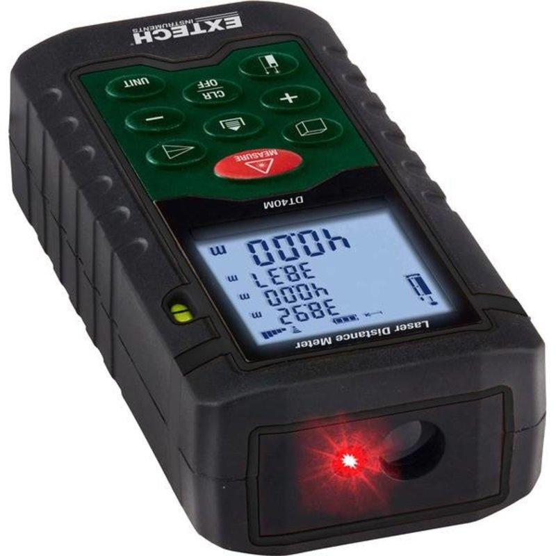 EXTECH DT40M: Laser afstandsmeter
