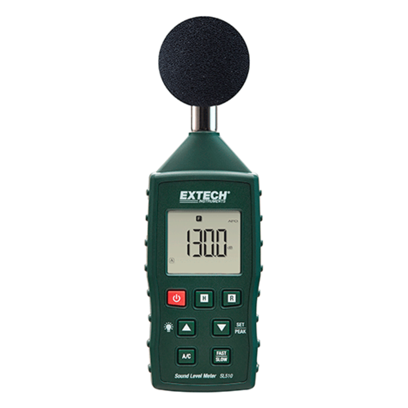 EXTECH SL510 Geluid Niveau Meter