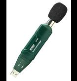 EXTECH 407760: USB Geluid Niveau Datalogger