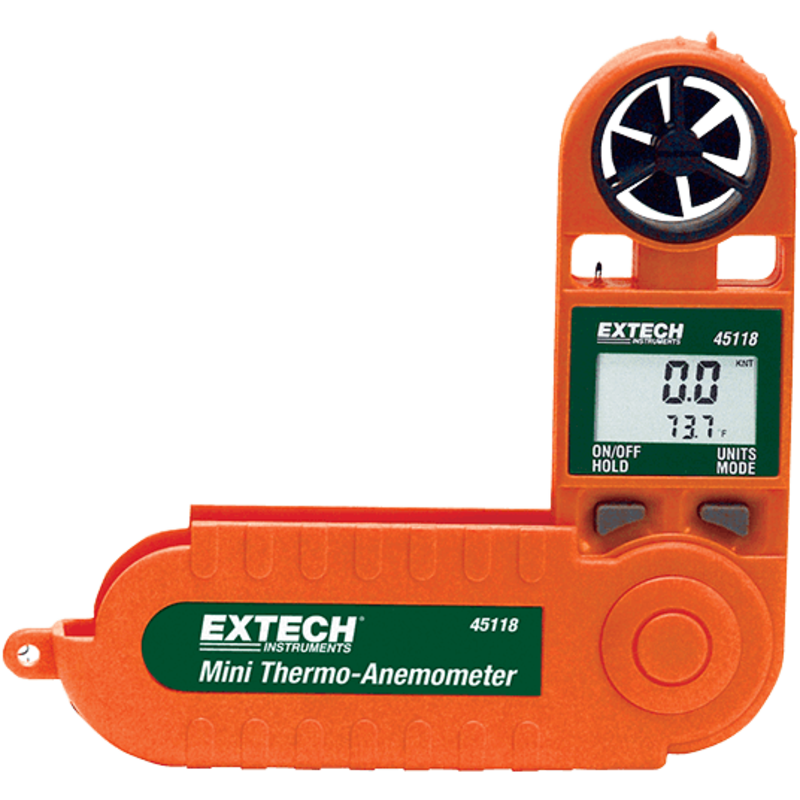 EXTECH 45118: Mini Thermo-Anemometer