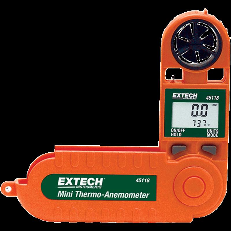 EXTECH 45118: Mini Thermo-Windmeter