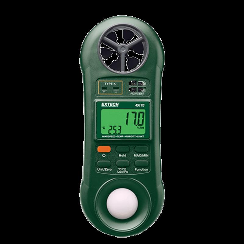 EXTECH 45170: 4-in-1 environmental meter