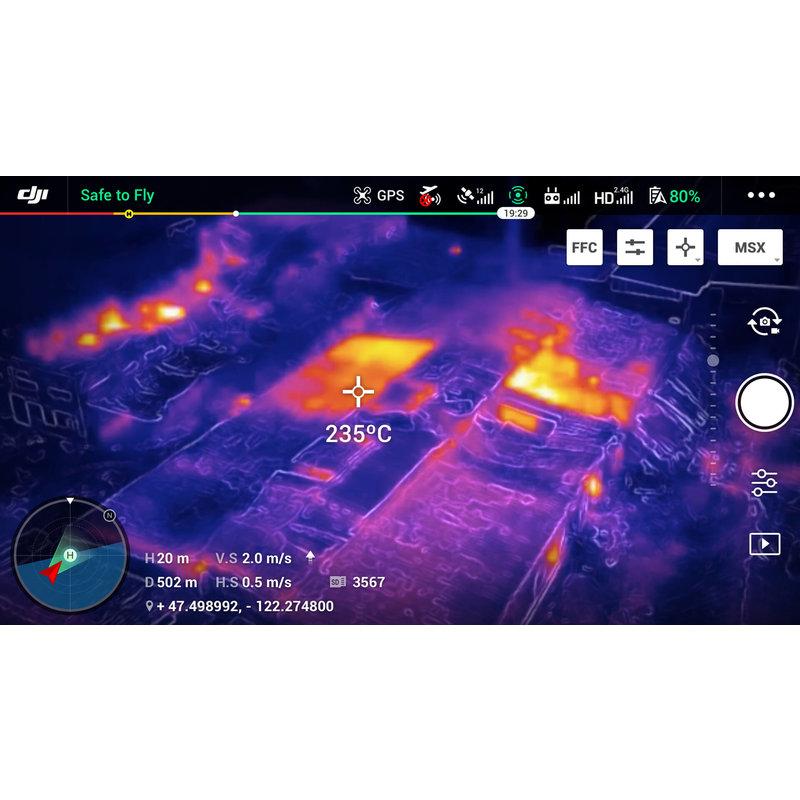 DJI Mavic 2 Enterprise Dual + Smart controller