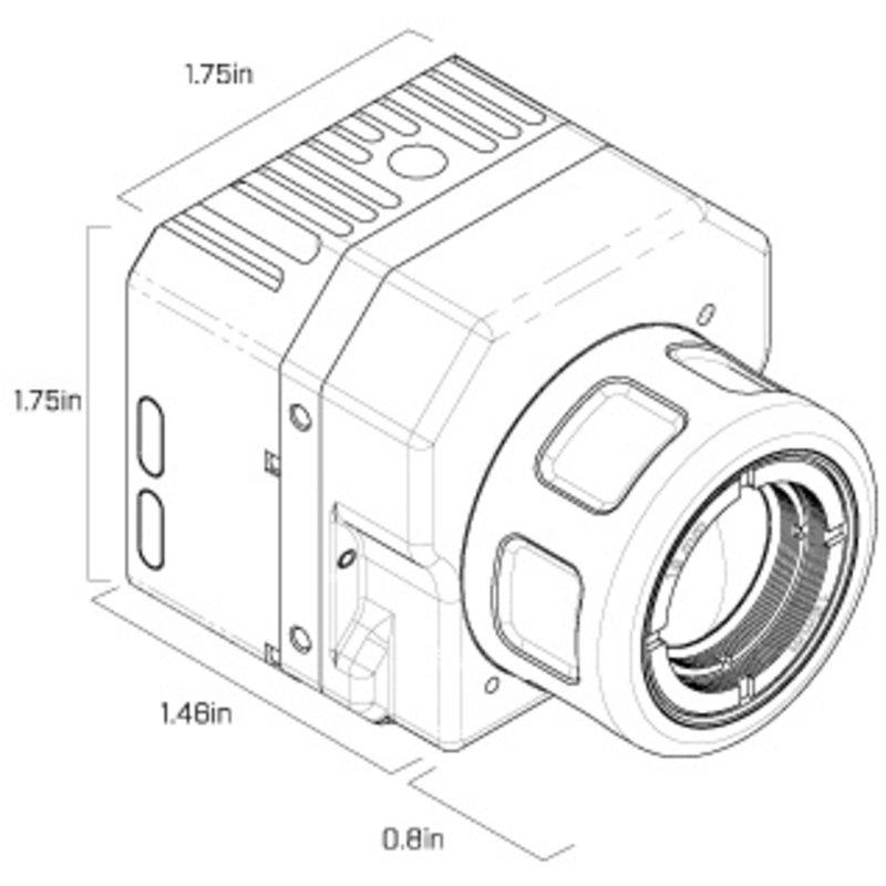 FLIR Vue™ 640 thermische camera voor drones en sUAS