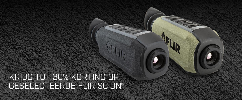 FLIR Scion: Nu 30% korting op geselecteerde modellen