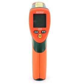 EXTECH 42509 Dual Laser IR Thermometer met kleur alarm