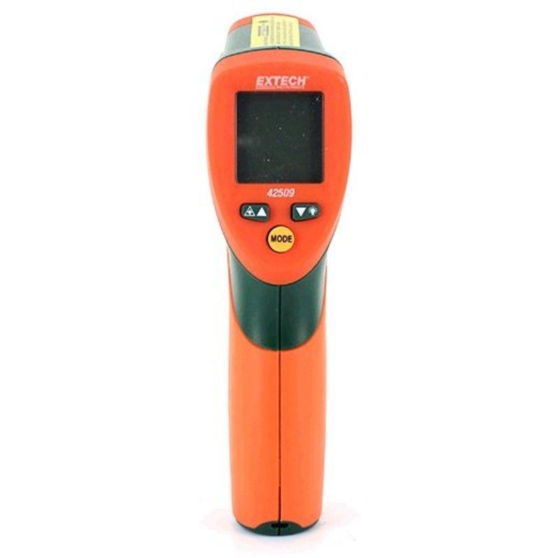 EXTECH 42509 double thermomètre IR laser avec alerte de couleur