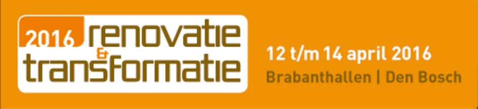 Renovatie & Transformatie beurs 12 t/m 14 april Brabanthallen Den Bosch