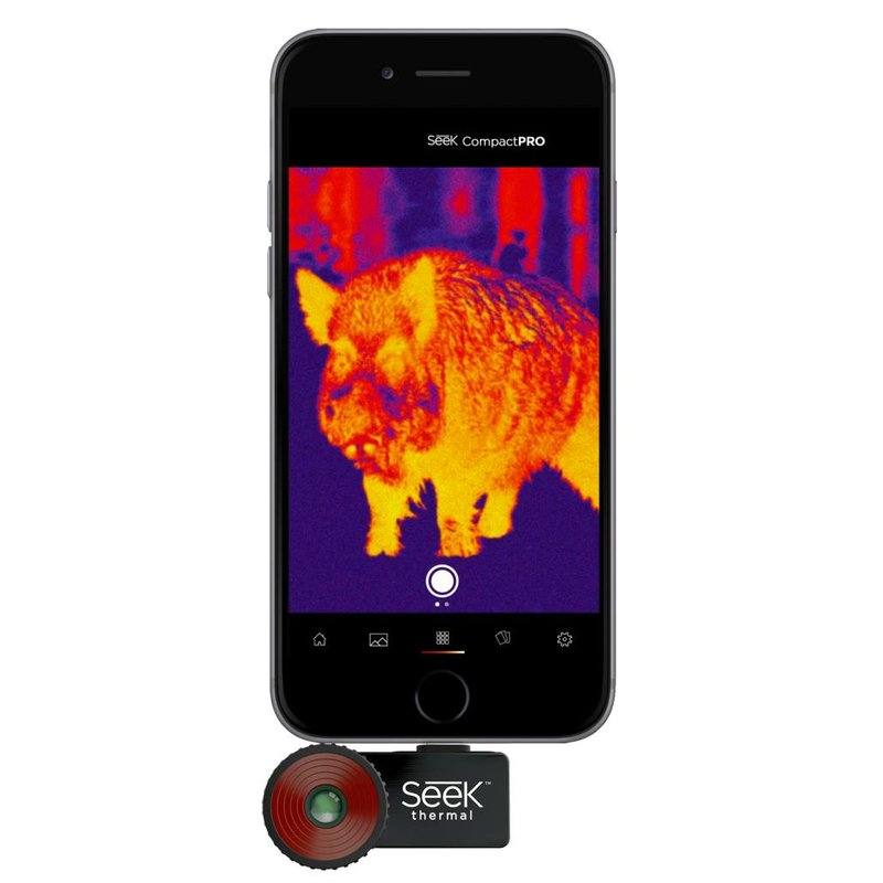 Seek Thermal PRO Compact iOS Fast Frame