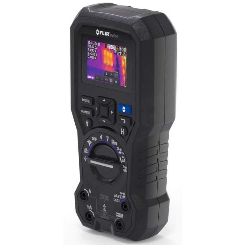 FLIR DM284de industriële multimeter met warmtebeeldcamera en IGM™