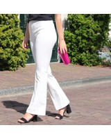 Flared Pants Wit