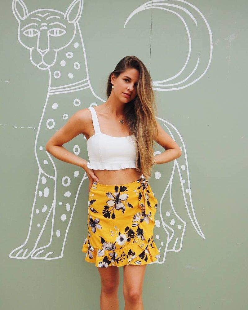 Flower Skirt Yellow