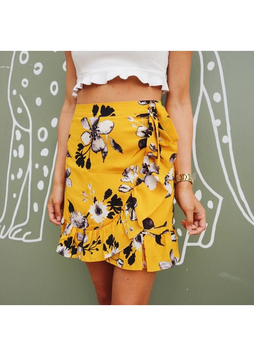 Flower Skirt Yellow