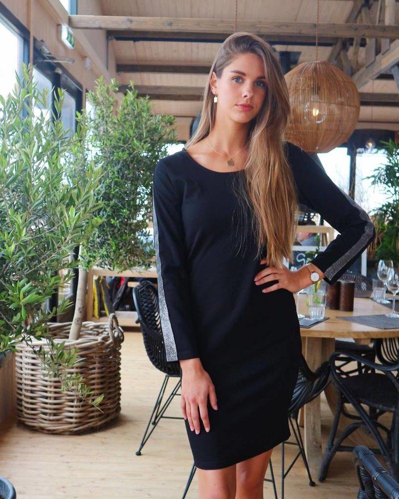 Glitter Dress Black