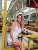Silky Dress Beige