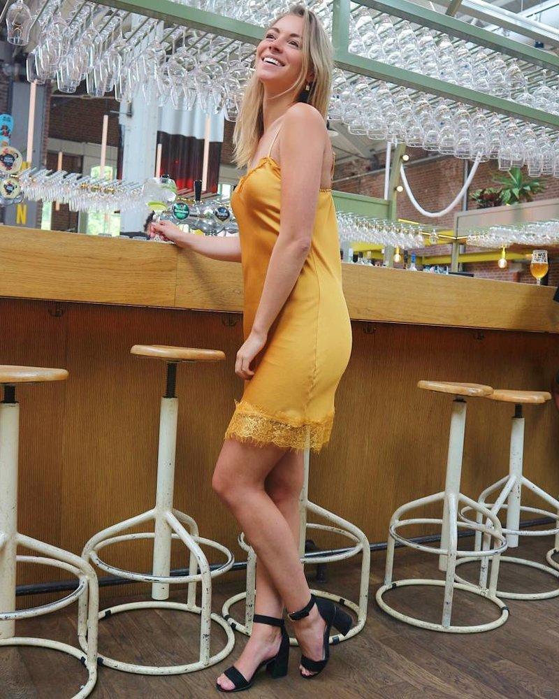 Silky Dress Orange