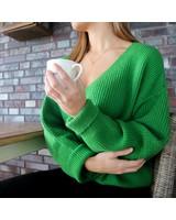 Oversized Knit Green