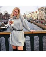 Knit Dress Grey