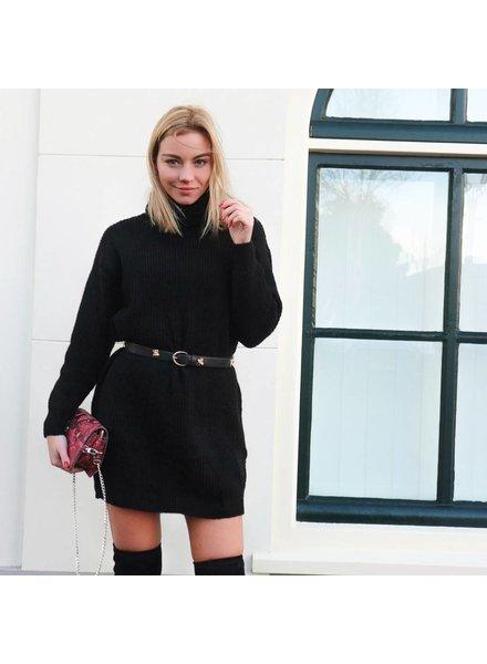 Knit Dress Black
