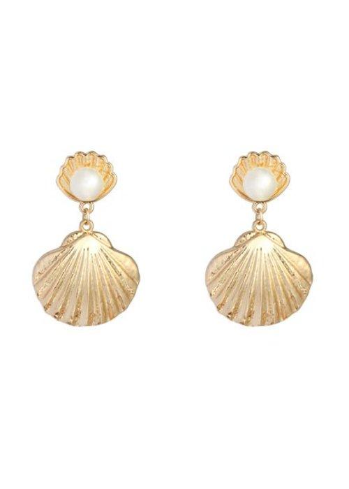 Arial Gold - Earrings