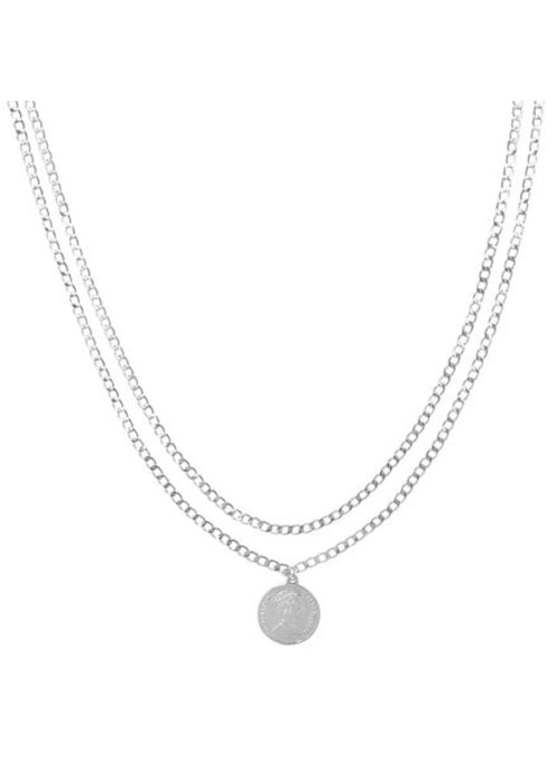 Julia Silver - Necklace