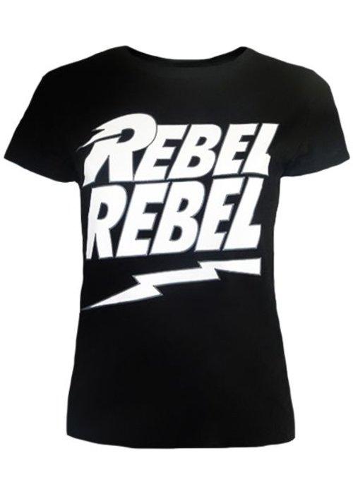 Rebel Rebel Black - T-shirt