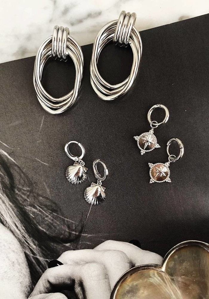 Guiding Star Silver - Earrings