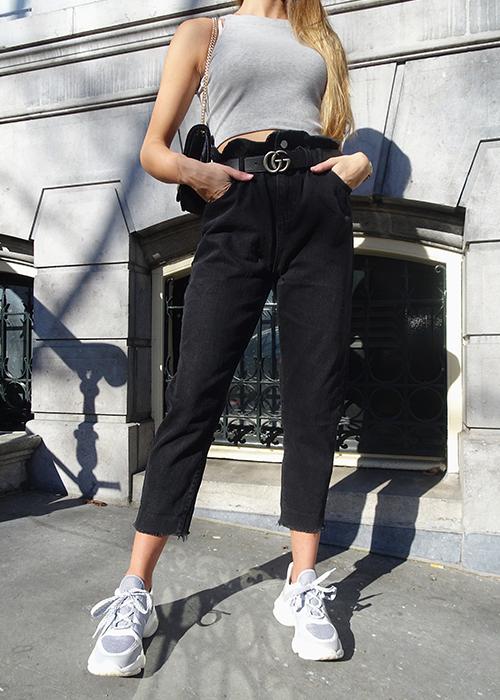 Baggy  Black - Jeans