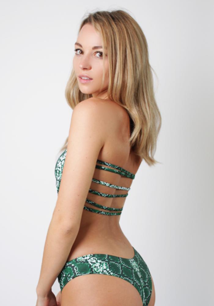 Snake Green - Bikini Bottom