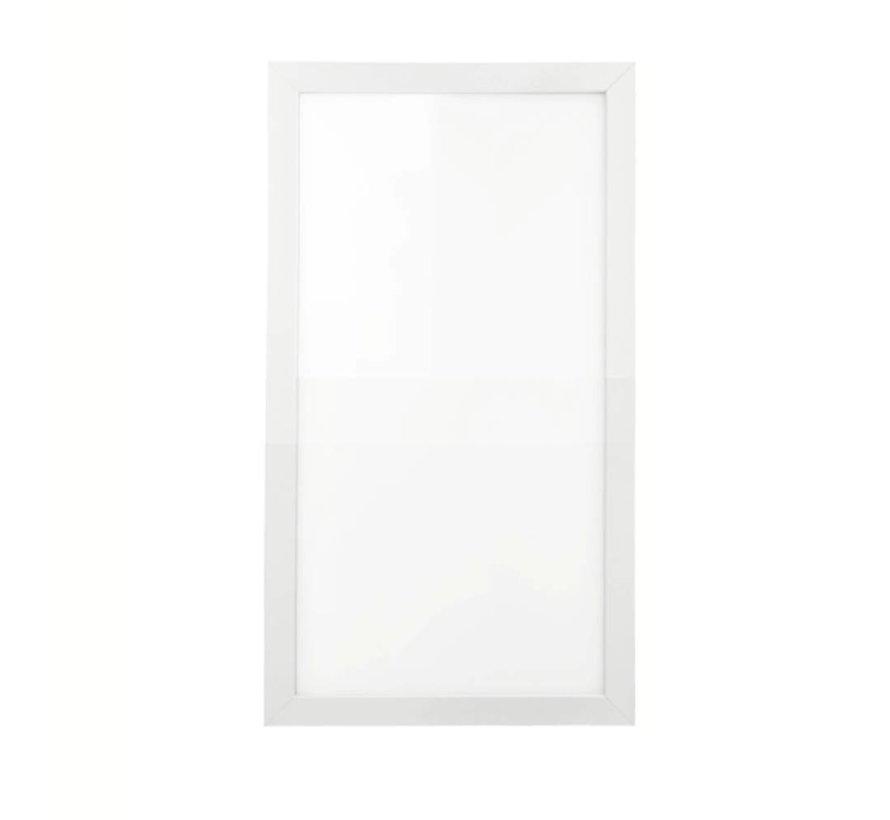 LED paneel 30x60cm - 25W 4000K 2125lm - Flikkervrij - 5 jaar garantie