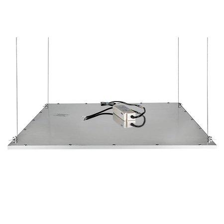 LED Panel ophangset RVS 4x1m lengte