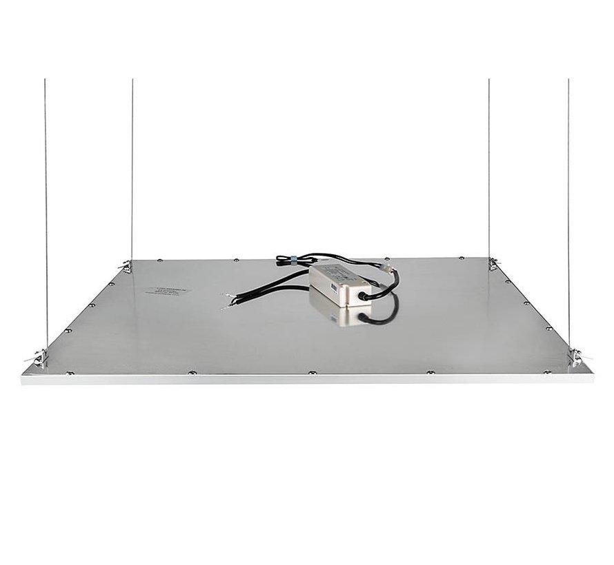 LED paneel ophangsysteem met 4 staaldraden
