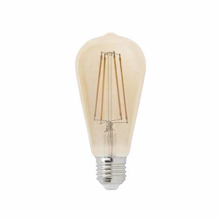 Dimbare LED Lamp 4W met Filament 2200K Langwerpig