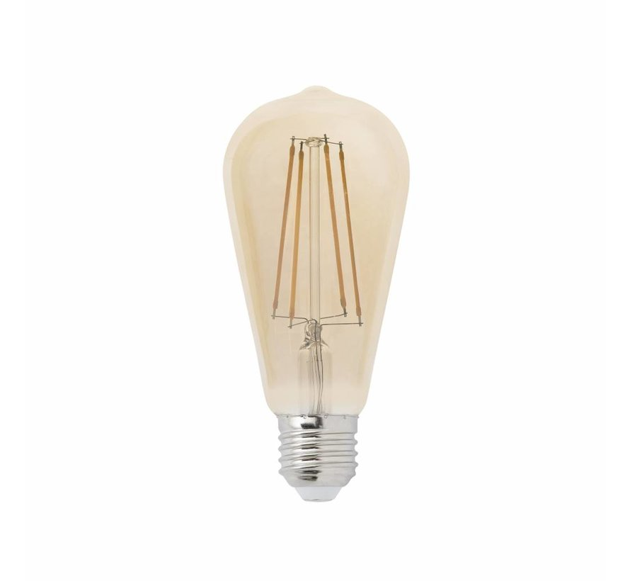 Dimbare LED Lamp Langwerpig - 4W - Met Filament - 2200K