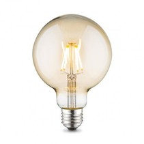 Dimbare LED Lamp 4W met Filament 2200K XL Globe