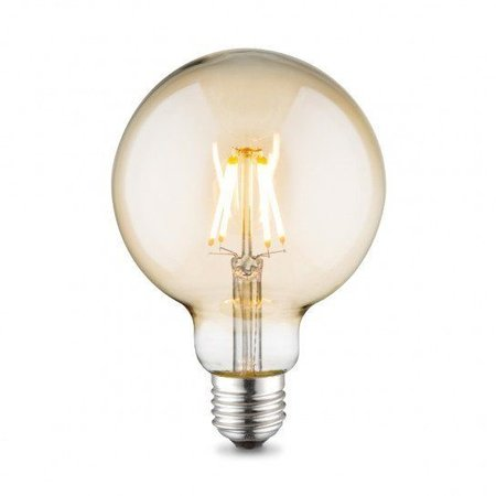 Dimbare LED Lamp 6W met Filament 2200K XL Globe
