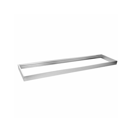 LED paneel  aluminium Zilver 600x300 mm opbouw frame